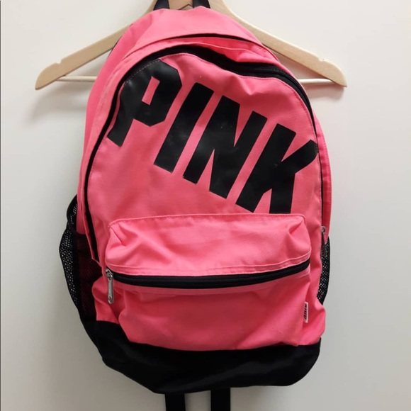 PINK Victoria's Secret Handbags - Pink Backpack